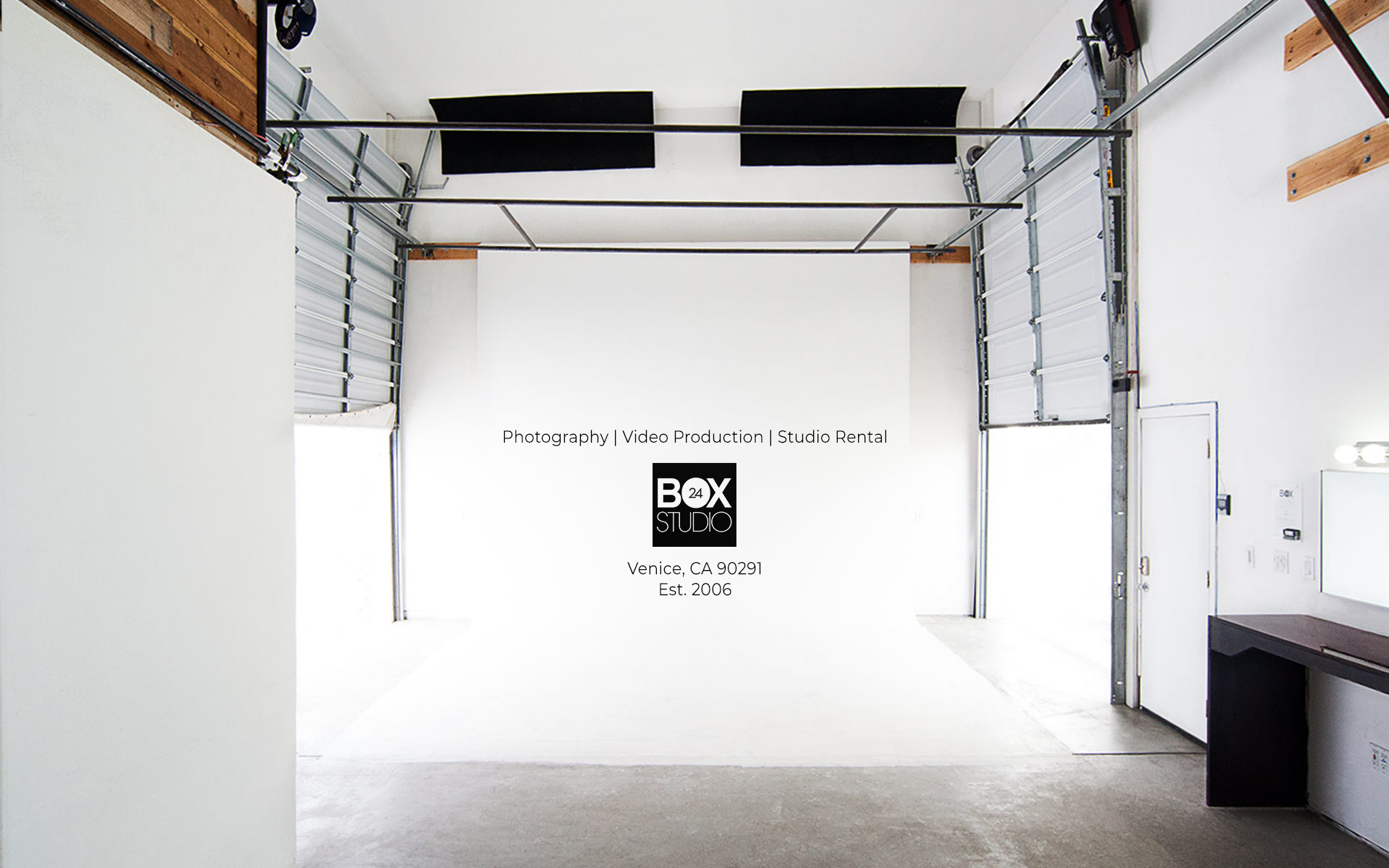 Photography_Video Production_Studio Rental